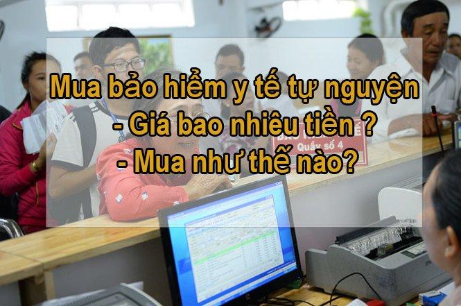 Mua Bao Hiem Y Te Tu Nguyen Gia Bao Nhieu Va Mua Nhu The Nao