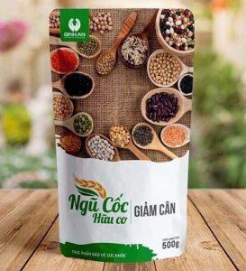 2.Bột ngũ cốc giảm cân Bình An – Linh Spa