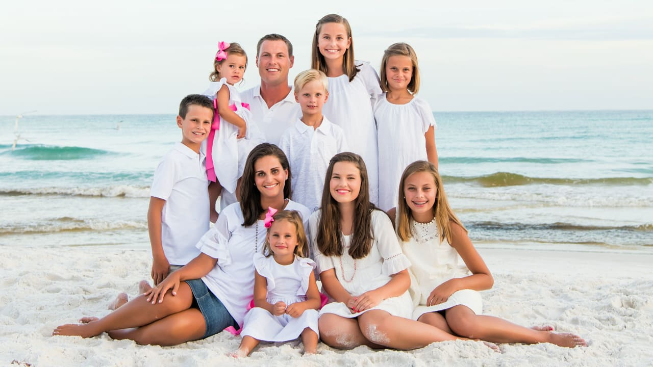 A Family Affair: A Look at Philip Rivers Through the Eyes of His Children