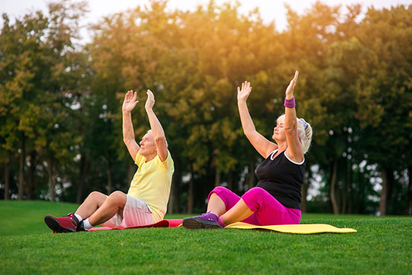 Lợi ích tập thể dục cho người già